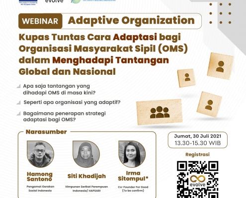 Webinar: Organisasi Yang Adaptif