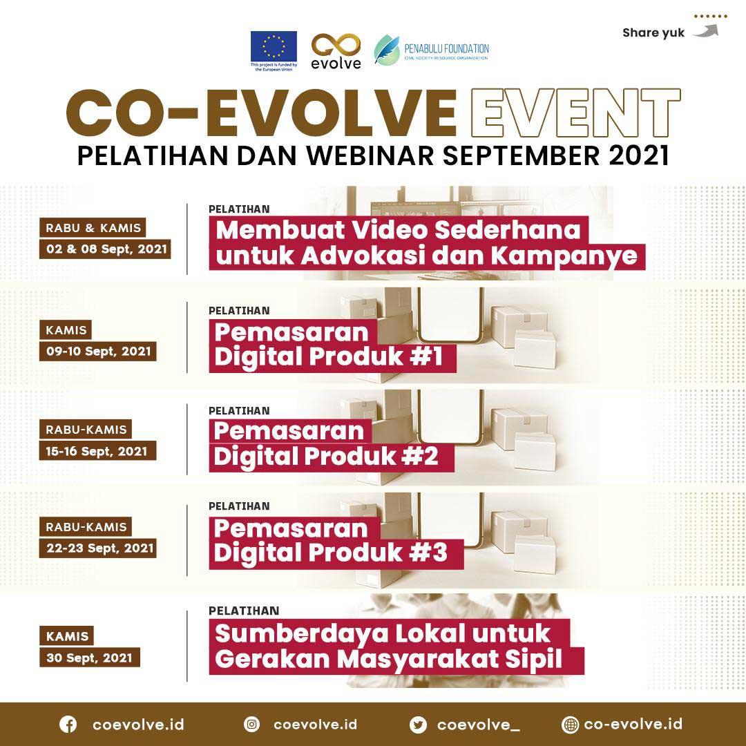 Event CO-EVOLVE September 2021